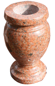 Wausau Red Tapered Vase